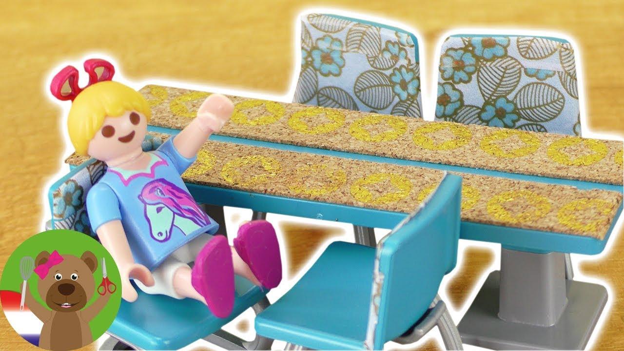 DIY Playmobil woonkamermeubels make-over geven | NIEUWE woonkamer ...
