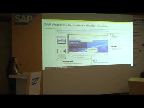 SAP Ankara Forum 2015 - SAP Workforce Performance Builder