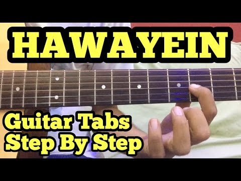 Hawayein Guitar Tabs/Lead Lesson | Jab Harry Met Sejal | Arijit Singh | Anushka | Shah Rukh Khan
