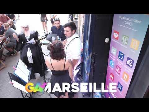 Lancement De Gay-Marseille Au Bar Le Pulse