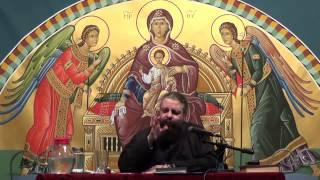 Πρωτοπρ. Νικόλαος Μανώλης, Ο Τίμιος Σταυρός εγγύηση στον Τελωνισμό της ψυχής (Φιλοκαλία) - Συζήτηση