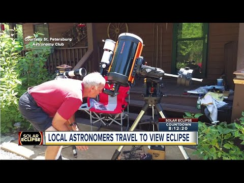 Local astronomers head to North Carolina for best views of Total Solar Eclipse