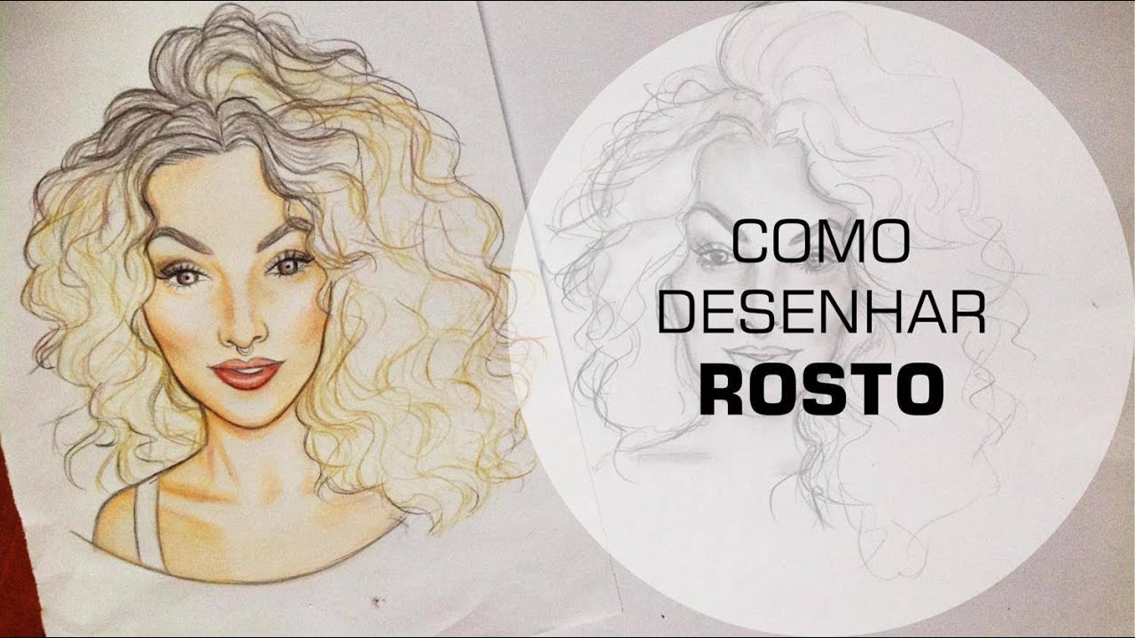 Google Desenhar Rosto: COMO DESENHAR ROSTO
