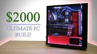 $2000 Ultimate Gaming/Editing PC Build | Time Lapse Build