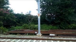 한국철도 강릉행 누리로 묵호역 도착