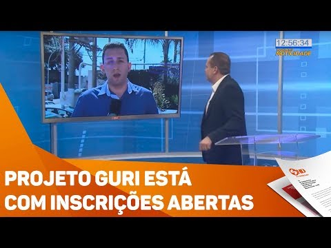 Projeto Guri está com inscrições abertas - TV SOROCABA/SBT