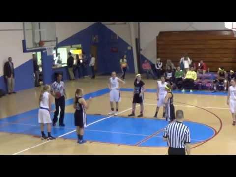 DBCS High School Girls  VS Williamsburg Christian Academy 17 Jan 14