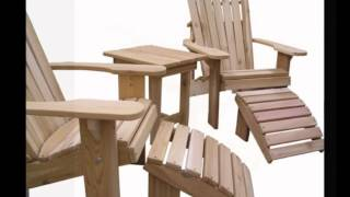 Adirondack Patio Tables