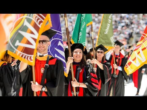 2018 Spring Commencement - Bachelor's, Law and Master's degree candidates