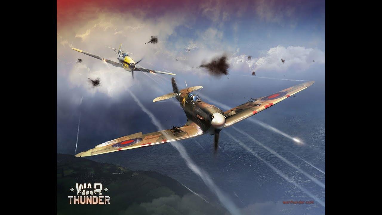 War Thunder Messerschmitt Bf 109 Vs Spitfire Youtube