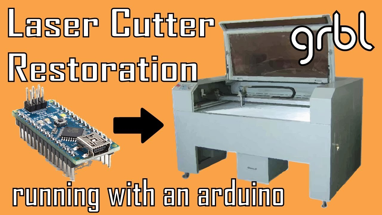 laser cutter restoration with an arduino | makerman