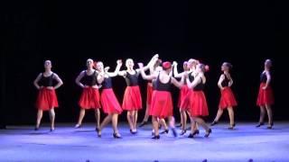 Танцевальный этюд на основе молдавского танца