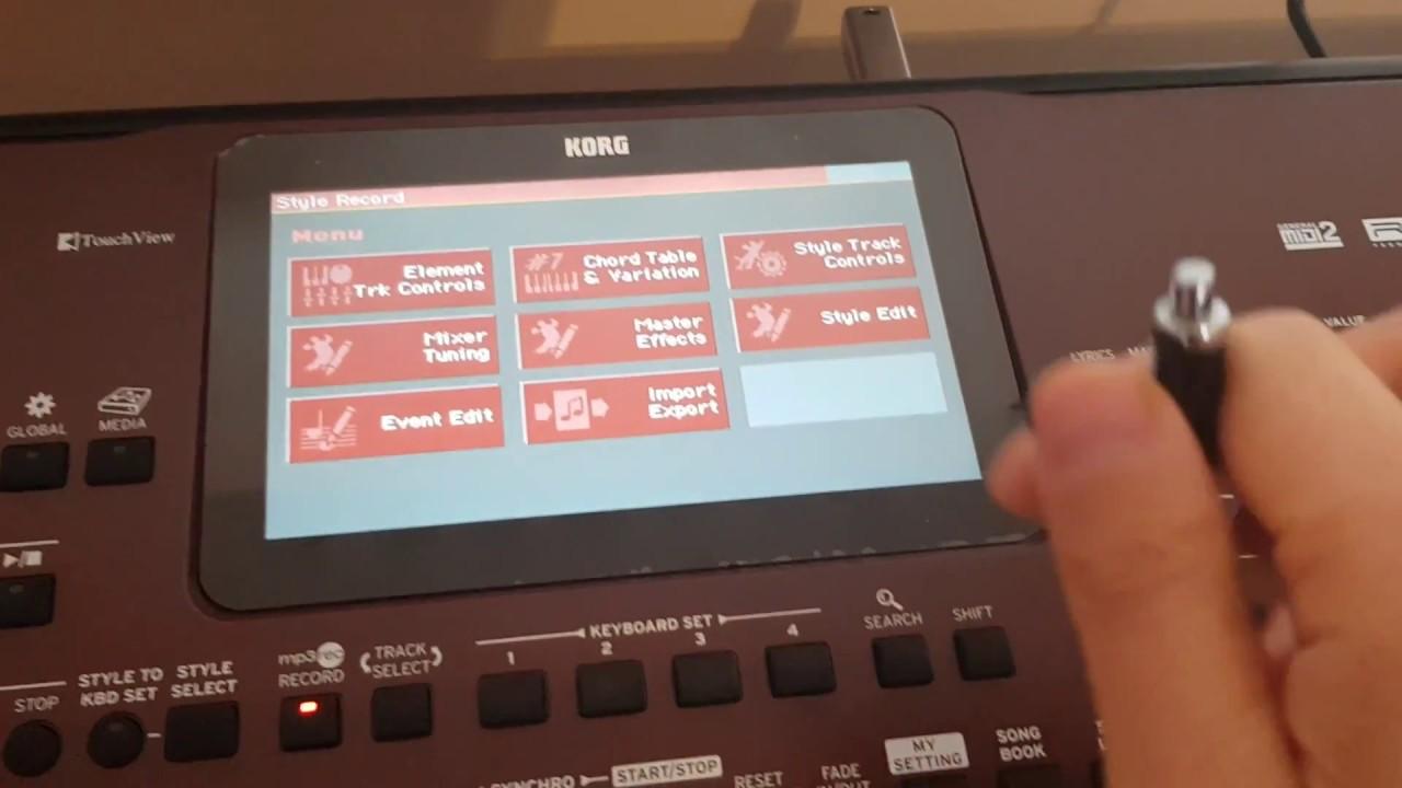 Korg Pa700 - Export full style to midi tutorial - Bonus in the description!