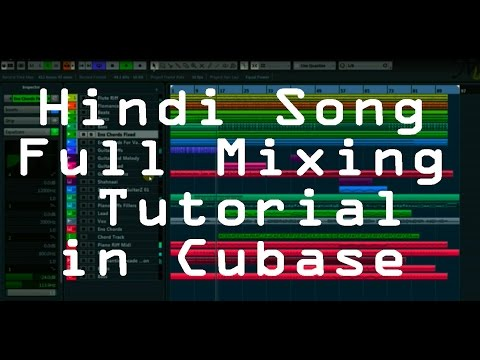 Making of Sang Tere (Original Hindi Song) Full Mixing and Mastering Tutorial for Beginners (Cubase)