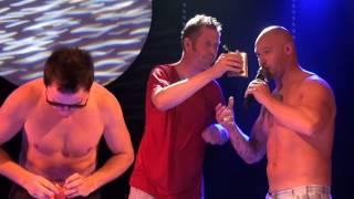 ALS Ice Challenge, von der Band Rocktigers/Cornamusa: Sänger Torsten Bähring & Gitarrist Ace Grifins