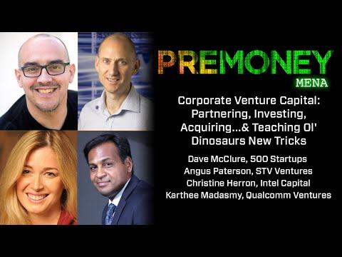 "[PreMoney MENA 2015] ""Corporate Venture Capital"""