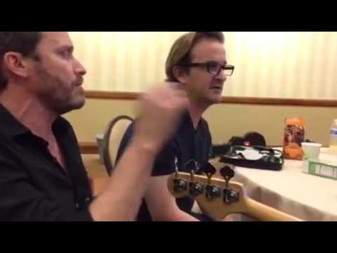Misha collins singing with Richard Speight Jr. and Rob Benidict