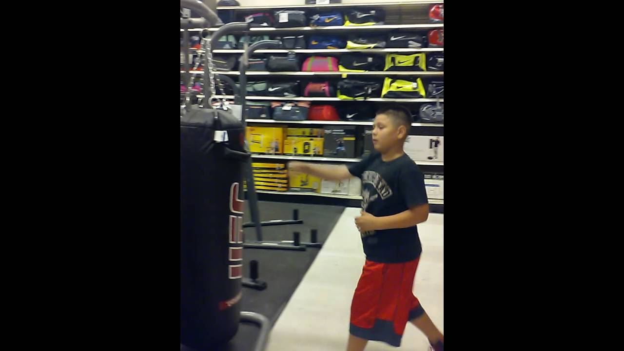 Punching Bag At Academy