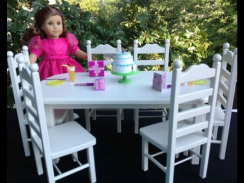 18 doll table and chairs high end bean bag chair youtube