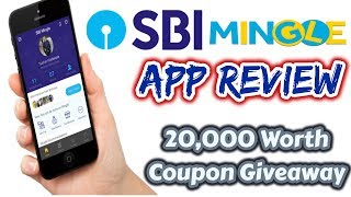 SBI Mingle App Review | Giveaway – Gift Vouchers Worth INR 20,000