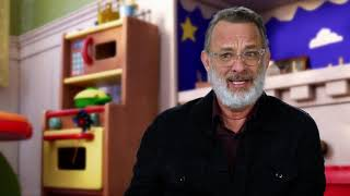 Toy Story 4 - Itw Tom Hanks (Woody) (official video)