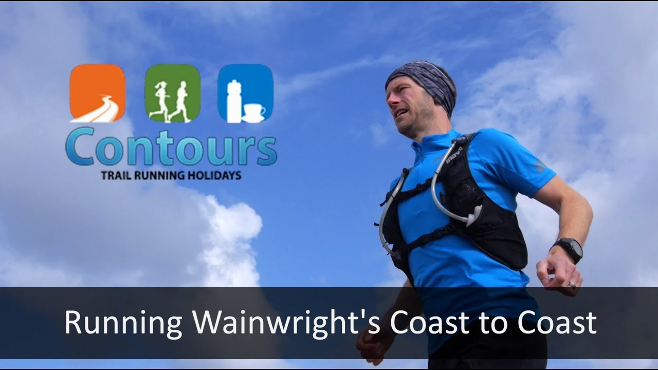 Running Wainwright's Coast to Coast Path with Contours Trail Running Holidays