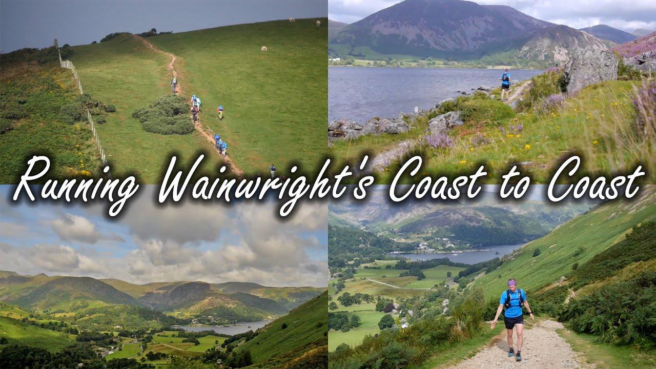 Running Wainwright's Coast to Coast Path with Contours Trail Running Holidays