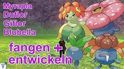 Myrapla, Duflor, Giflor, Blubella fangen + entwickeln | Pokemon Schwert und Schild