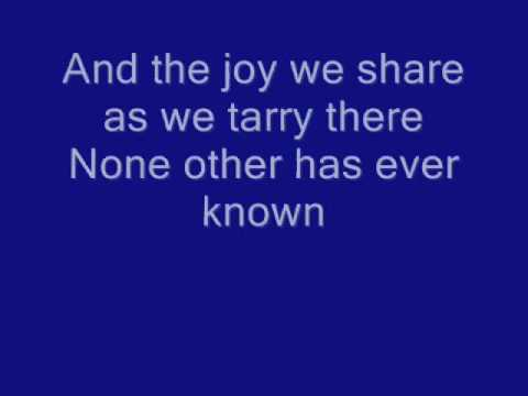 In The Garden Alan Jackson lyrics