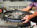 Motorcycle Wheel Restoration|yamaha Rx 100
