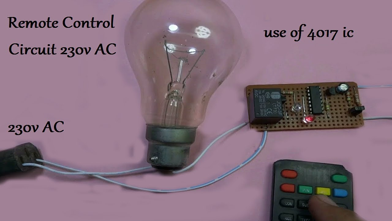 Simple 10 Led Chaser With Cd4017 Schematic Circuits Elektropagecom Remote Contro Circuit 4017 Ic Youtube