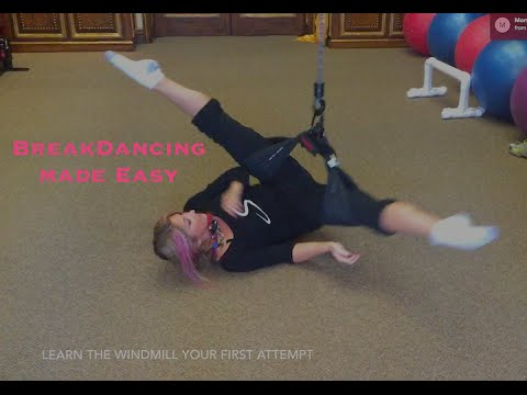 BREAKDANCING MADE EASY -  The Windmill Training Device