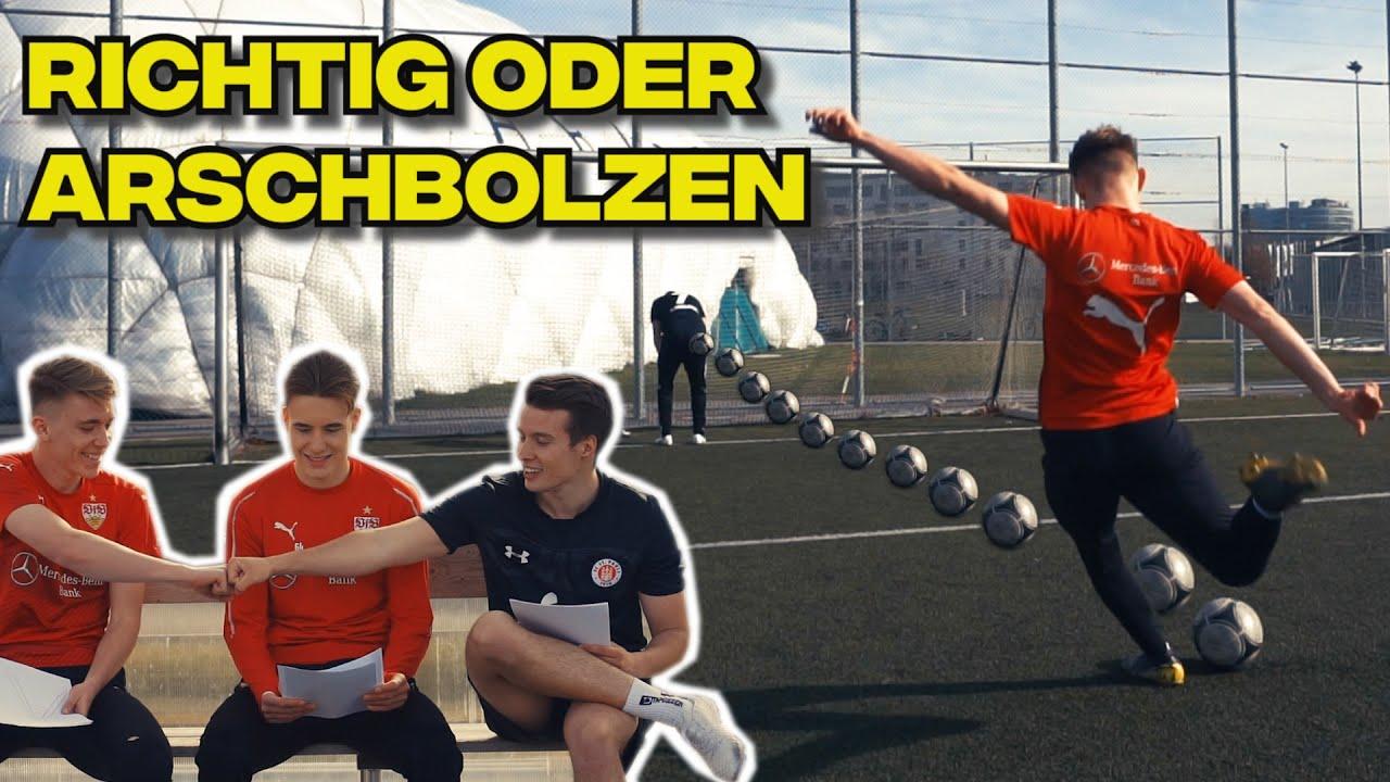Richtig Oder Arschbolzen Schmerzhaftes Fussball Quiz Vs Vfb Spieler