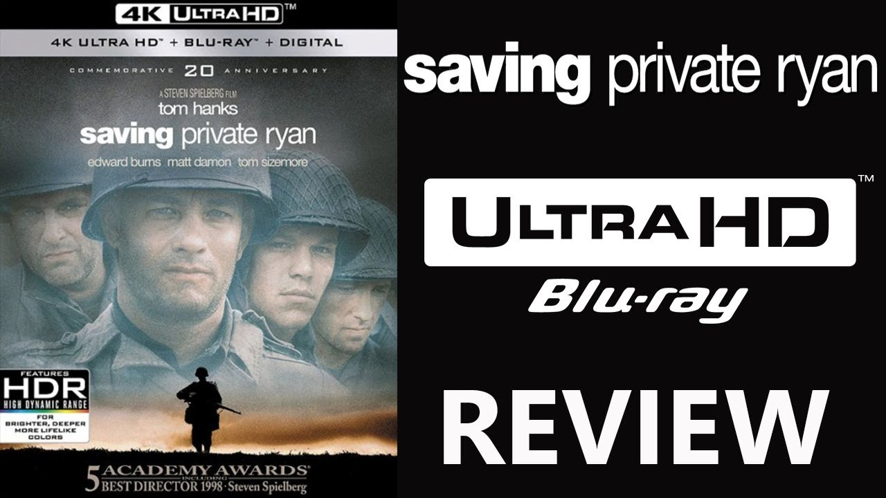 Download SAVING PRIVATE RYAN 4K Bluray Review   Dolby Atmos