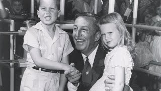 The Story of the First Two Kids into Disneyland with Walt Disney