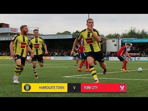 HTTV | Highlights: Harrogate Town 2-0 York City (23/09/2017)