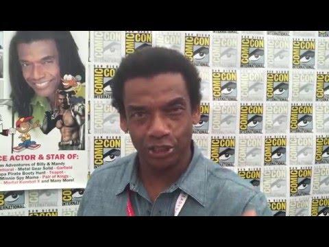 Greg Eagles at 2015 San Diego Comic Con