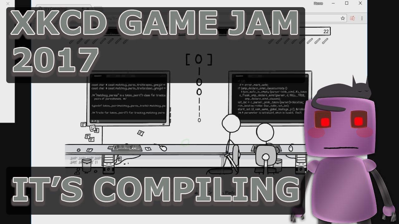 It's Compiling! | xkcd Game Jam 2017