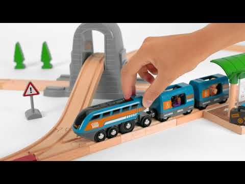 BRIO World - 33972 Smart Tech Sound Action Tunnel Travel Set
