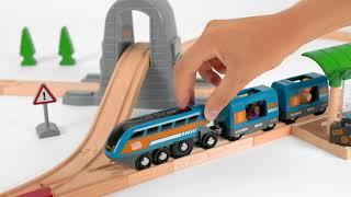 BRIO World - 33972 Smart Tech Sound Action Tunnel Travel Set