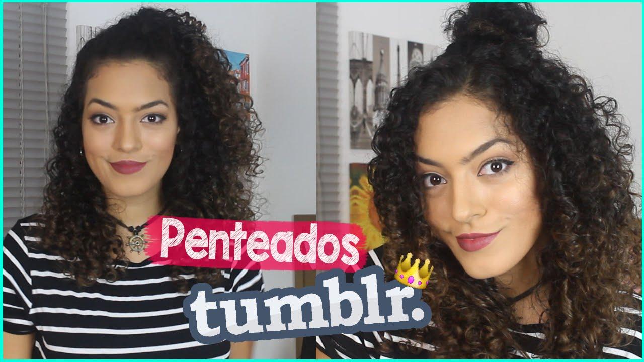 Fabuloso PENTEADOS PARA CABELO CACHEADO - YouTube QL71