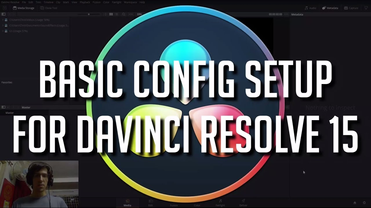 Basic Tips for Configuration Setup | DaVinci Resolve 15 Tutorial