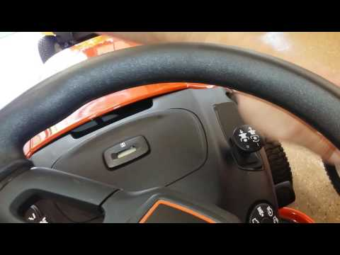 How to start ariens lawn Tractor 42″