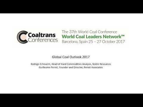 Webinar: Global Coal Outlook 2017