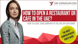 How To Open A Restaurant Or Cafe In The Uae
