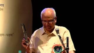 Dr.Raghunath Mashelkar Awarded Lokmanya Matrubhoomi Puraskar, at Goa  part 1.avi