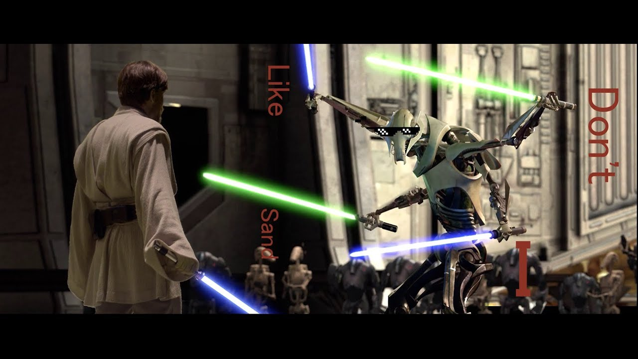Obi Wan Vs General Grievous But Every Time Their Lightsabers