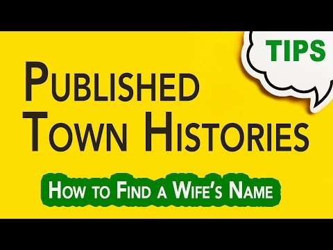Town or County Histories   Genealogy Clips   GC-066