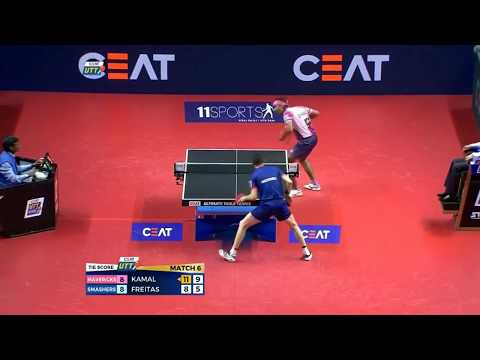 (Achanta Sharath Kamal) Table Tennis Player From India (Highlights)