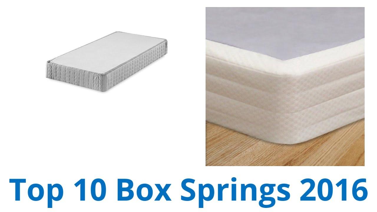 10 Best Box Springs 2016